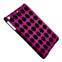CIRCLES1 BLACK MARBLE & PINK BRUSHED METAL iPad Air Hardshell Cases View5