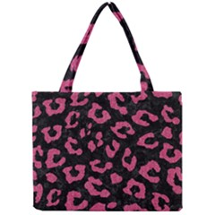 Skin5 Black Marble & Pink Denim Mini Tote Bag by trendistuff