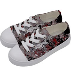 Graffiti Kids  Low Top Canvas Sneakers by ValentinaDesign