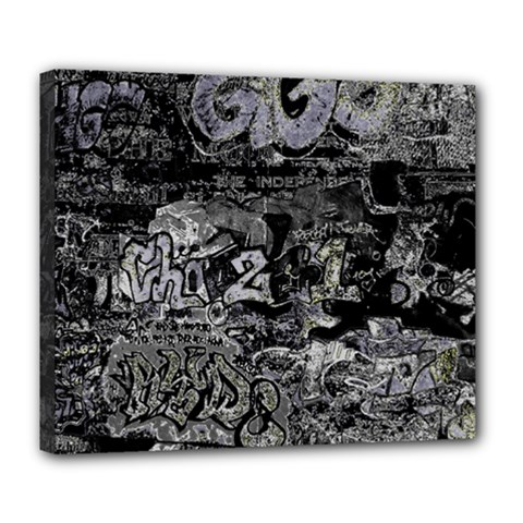 Graffiti Deluxe Canvas 24  X 20   by ValentinaDesign