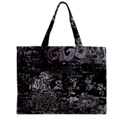 Graffiti Zipper Mini Tote Bag
