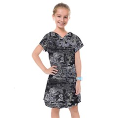 Graffiti Kids  Drop Waist Dress by ValentinaDesign