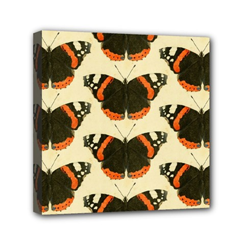 Butterfly Butterflies Insects Mini Canvas 6  X 6  by Celenk