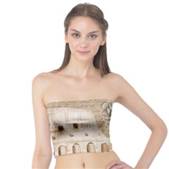 Colosseum Rome Caesar Background Tube Top by Celenk
