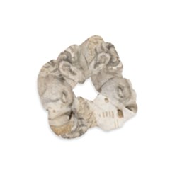 Colosseum Rome Caesar Background Velvet Scrunchie by Celenk