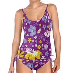Floral Flowers Tankini Set by Celenk
