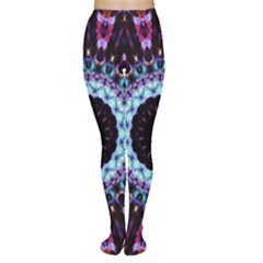 Kaleidoscope Shape Abstract Design Women s Tights by Celenk
