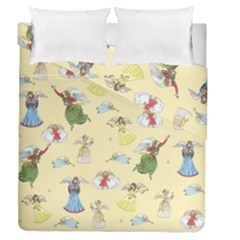 Christmas Angels  Duvet Cover Double Side (queen Size)