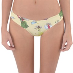 Christmas Angels  Reversible Hipster Bikini Bottoms by Valentinaart