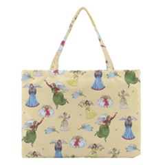 Christmas Angels  Medium Tote Bag