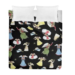 Christmas Angels  Duvet Cover Double Side (full/ Double Size)