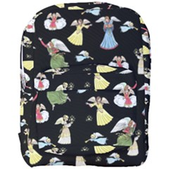 Christmas Angels  Full Print Backpack by Valentinaart