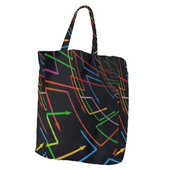 Arrows Direction Opposed To Next Giant Grocery Zipper Tote