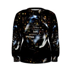 Christmas Star Ball Women s Sweatshirt