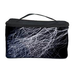 Flash Black Thunderstorm Cosmetic Storage Case by Celenk