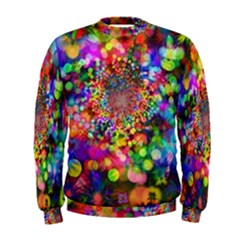 Background Color Pattern Structure Men s Sweatshirt by Celenk