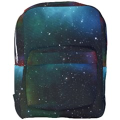 Galaxy Space Universe Astronautics Full Print Backpack