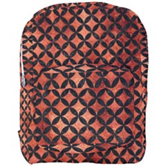 Circles3 Black Marble & Copper Paint Full Print Backpack