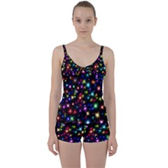 Fireworks Rocket New Year S Day Tie Front Two Piece Tankini by Celenk