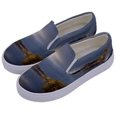 View   On The Lake Kids  Canvas Slip Ons by Costasonlineshop