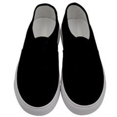 Black Gothic Men s Classic Low Top Sneakers