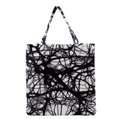 Neurons Brain Cells Brain Structure Grocery Tote Bag