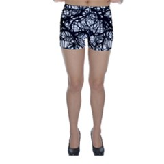 Neurons Brain Cells Brain Structure Skinny Shorts