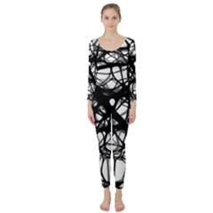Neurons Brain Cells Brain Structure Long Sleeve Catsuit