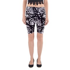 Neurons Brain Cells Brain Structure Yoga Cropped Leggings