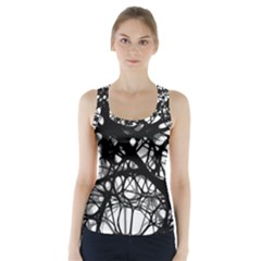 Neurons Brain Cells Brain Structure Racer Back Sports Top