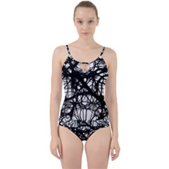 Neurons Brain Cells Brain Structure Cut Out Top Tankini Set