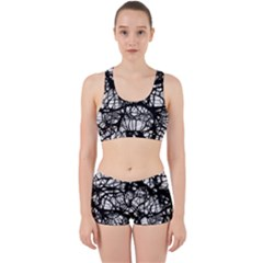 Neurons Brain Cells Brain Structure Work It Out Sports Bra Set