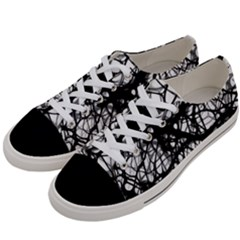 Neurons Brain Cells Brain Structure Women s Low Top Canvas Sneakers