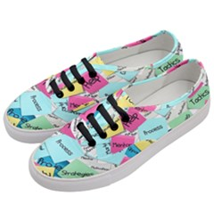 Stickies Post It List Business Women s Classic Low Top Sneakers by Celenk