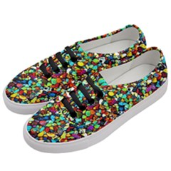 Colorful Stones, Nature Women s Classic Low Top Sneakers by Costasonlineshop