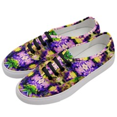 Green,purple Yellow ,goa Pattern Women s Classic Low Top Sneakers by Costasonlineshop