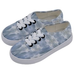Ice Crystals Abstract Pattern Kids  Classic Low Top Sneakers by Costasonlineshop