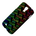 Thank You Font Colorful Word Color Samsung Galaxy S4 I9500/I9505 Hardshell Case View4