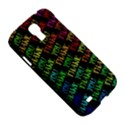 Thank You Font Colorful Word Color Samsung Galaxy S4 I9500/I9505 Hardshell Case View5