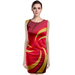 Tinker Color Share Many About Classic Sleeveless Midi Dress