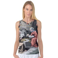 The Birth Of Christ Women s Basketball Tank Top