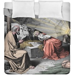 The Birth Of Christ Duvet Cover Double Side (king Size)