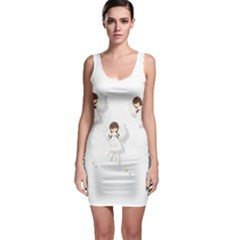 Christmas Angels  Bodycon Dress