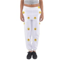 Happy Sun Motif Kids Seamless Pattern Women s Jogger Sweatpants by dflcprintsclothing