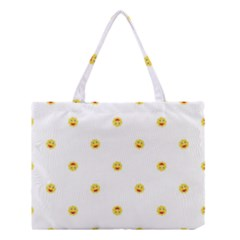Happy Sun Motif Kids Seamless Pattern Medium Tote Bag by dflcprintsclothing
