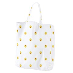 Happy Sun Motif Kids Seamless Pattern Giant Grocery Zipper Tote by dflcprintsclothing