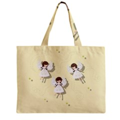 Christmas Angels  Zipper Mini Tote Bag