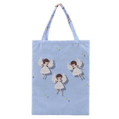Christmas Angels  Classic Tote Bag by Valentinaart