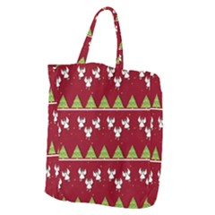 Christmas Angels  Giant Grocery Zipper Tote