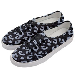Skin5 Black Marble & Silver Paint Women s Classic Low Top Sneakers by trendistuff